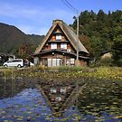 Gassho hut in Shirakawa-go by Cameron O'Neill