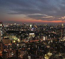 Tokyo Sunset by Cameron O'Neill