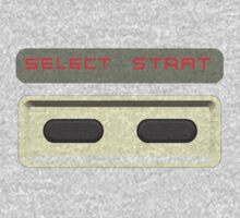 Select Start buttons NES controller pad. by 2monthsoff