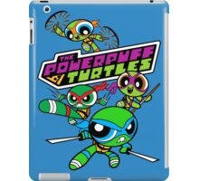 The Powerpuff Turtles iPad Case/Skin