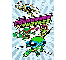 The Powerpuff Turtles Photographic Print