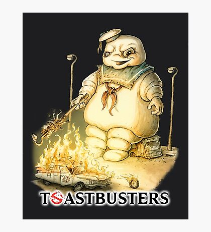 Toastbusters Photographic Print