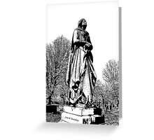 Lady of the sea Greeting Card