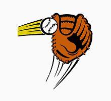 Mitt. Baseball glove. Men's Baseball ¾ T-Shirt