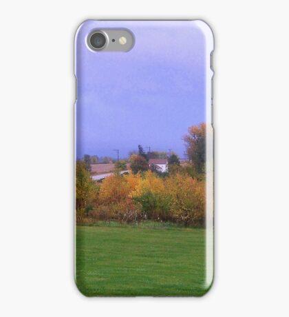 Backyard Prairie iPhone Case/Skin