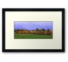 Backyard Prairie Framed Print