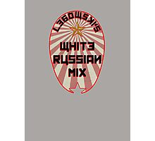 Lebowski White Russian Mix Photographic Print