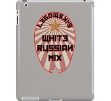 Lebowski White Russian Mix iPad Case/Skin