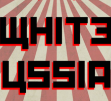 Lebowski White Russian Mix Sticker