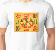 Lemons and Limes (Yellow) Unisex T-Shirt