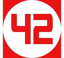 42 Photographic Print