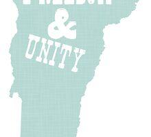 Vermont State Slogan Motto by surgedesigns