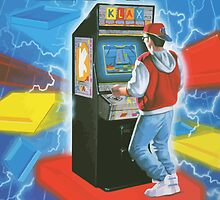 Klax. Amazing retro arcade machine cabinet gamer! by 2monthsoff