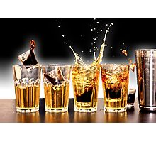 Jager Bombs Photographic Print