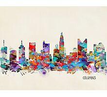 Columbus Ohio skyline Photographic Print