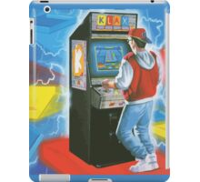 Klax gamer. Amazing arcade cabinet! iPad Case/Skin