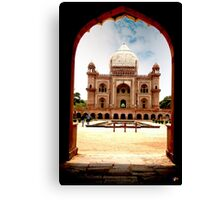 Safdurjungs Tomb Canvas Print