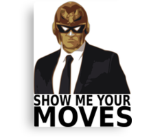 Captain Falcon in Formal Attire 2 Canvas Print