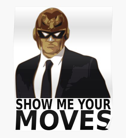 Captain Falcon in Formal Attire 2 Poster