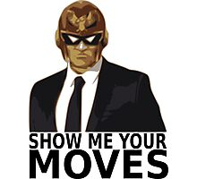 Captain Falcon in Formal Attire 2 Photographic Print