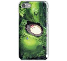 Beautiful Totoro - Digital Art iPhone Case/Skin