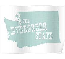 Washington State Motto Slogan Poster