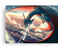 Pokemon Digital Painting Canvas Print