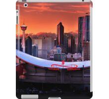Calgary Skyline at Dusk iPad Case/Skin