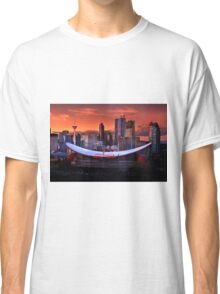 Calgary Skyline at Dusk Classic T-Shirt