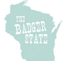 Wisconsin State Motto Slogan by surgedesigns