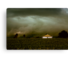 Storm on the Rise Canvas Print
