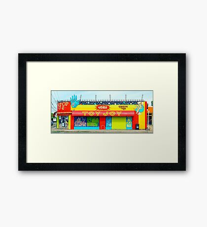 Old Toy Joy in Austin Framed Print