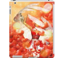 Valentine background with cupid iPad Case/Skin