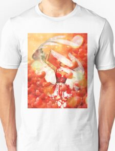 Valentine background with cupid T-Shirt