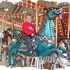 The joy of a carousel by Susan Pettrone