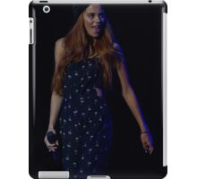 Model on the catwalk at the Clothes Show live 2014 in Birmingham iPad Case/Skin