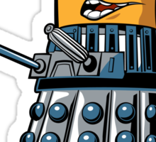 Doctor Gru Dalek - sticker Sticker