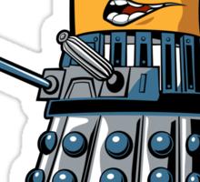Doctor Gru Dalek - sticker Sticker