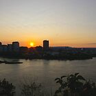 Ottawa sunset by JohnT