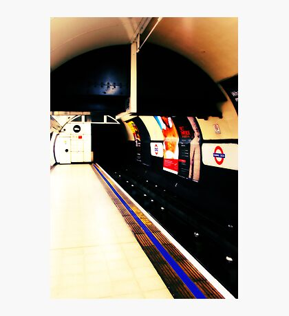 Metro mood in London # 03 Photographic Print
