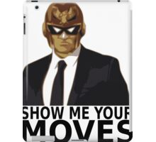 Captain Falcon in Formal Attire 2 iPad Case/Skin