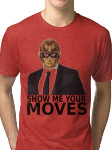 Captain Falcon in Formal Attire 2 Tri-blend T-Shirt