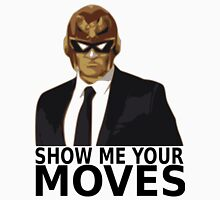 Captain Falcon in Formal Attire 2 Unisex T-Shirt