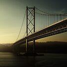 Forth Road Bridge by miclile