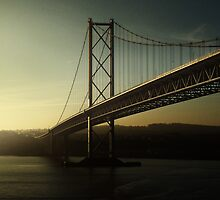 Forth Road Bridge by miclile