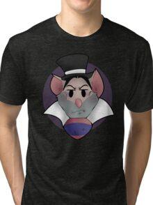 Professor Ratigan separate  Tri-blend T-Shirt