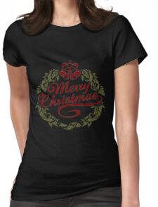 Merry Christmas! Womens Fitted T-Shirt
