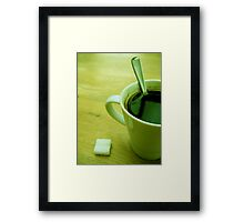 Morning Boost Framed Print
