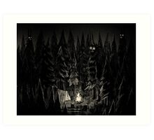 Forest is Alive Art Print