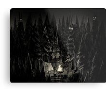 Forest is Alive Metal Print